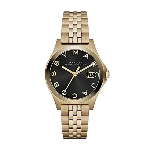 Marc Jacobs Damen-Armbanduhr XS Analog Quarz Edelstahl MBM3321