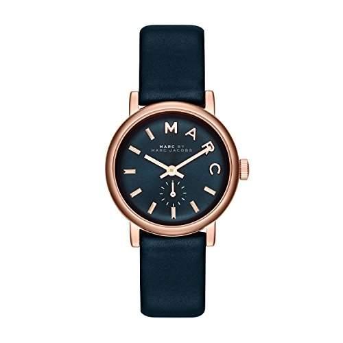 Marc Jacobs Damen-Armbanduhr XS Analog Quarz Leder MBM1331