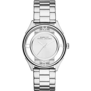 Marc Jacobs Damen-Armbanduhr Analog Edelstahl Silber MBM3412