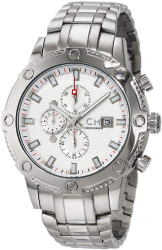 Carlo Monti Herren-Armbanduhr StahlweissStahl CM100-111