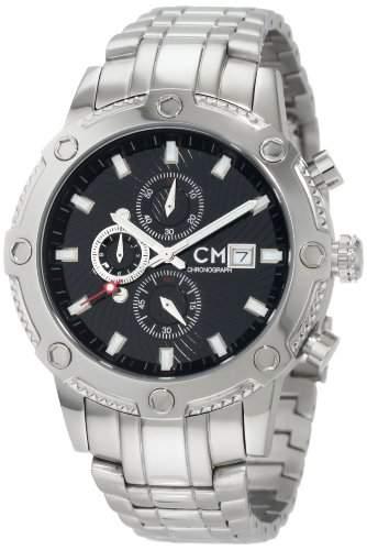 Carlo Monti Herren-Armbanduhr StahlschwarzStahl CM100-121