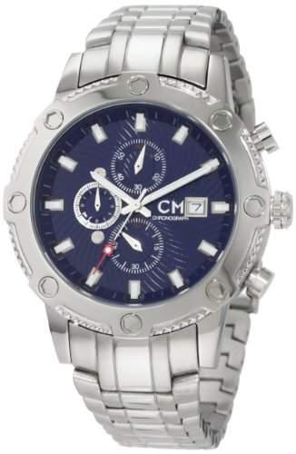 Carlo Monti Herren-Armbanduhr StahlblauStahl CM100-131