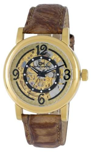 Carlo Monti Damen-Armbanduhr Cremona Analog Automatik Leder CM120-200