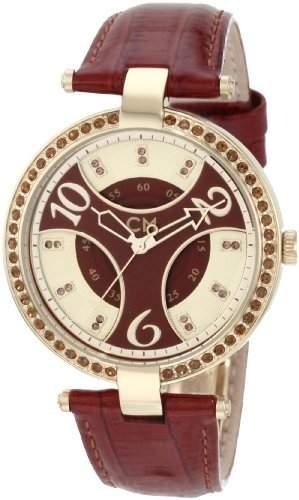 Carlo Monti Damen-Armbanduhr Analog Quarz Leder CM501-295
