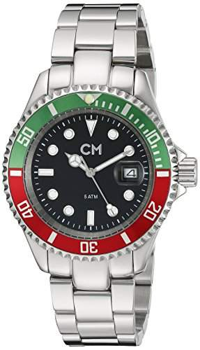 Carlo Monti Herren-Armbanduhr XL Varese Analog Edelstahl CM507-121B