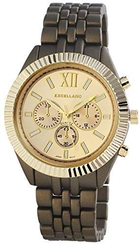 Excellanc Damen-Armbanduhr Analog Quarz verschiedene Materialien 152054000051