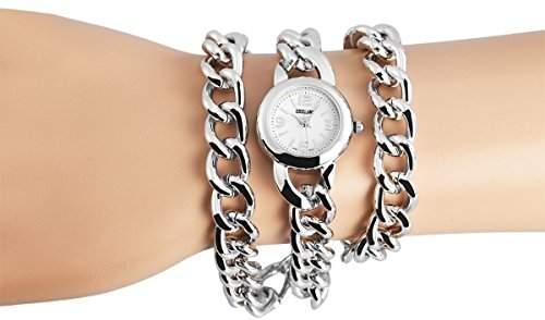 Excellanc Damen-Armbanduhr XS Analog Quarz verschiedene Materialien 150422500002