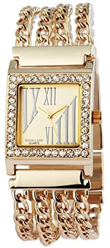 Excellanc Damen-Armbanduhr Analog Quarz verschiedene Materialien 150804000029