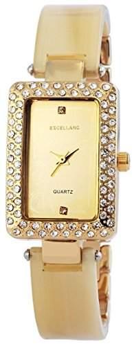 Excellanc Damen-Armbanduhr Analog Quarz verschiedene Materialien 150804000033