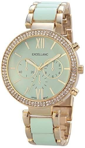 Excellanc Damen-Armbanduhr Analog Quarz verschiedene Materialien 150806000023