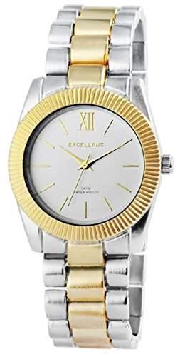 Excellanc Damen-Armbanduhr Analog Quarz verschiedene Materialien 150812500032