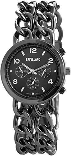 Excellanc Damen-Armbanduhr Analog Quarz verschiedene Materialien 150871000021