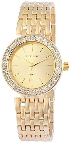 Excellanc Damen-Armbanduhr Analog Quarz verschiedene Materialien 152804500020