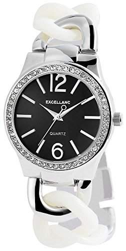 Excellanc Damen-Armbanduhr Analog Quarz verschiedene Materialien 152821000021