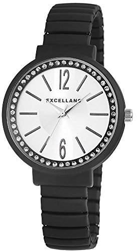 Excellanc Damen-Armbanduhr Analog Quarz verschiedene Materialien 172382700006