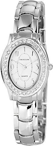 Excellanc Damen-Armbanduhr Analog Quarz verschiedene Materialien 180322500025