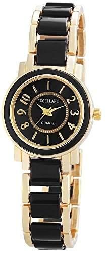 Excellanc Damen-Armbanduhr XS Analog Quarz verschiedene Materialien 180801000001