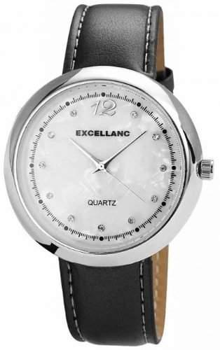 Excellanc Damen-Armbanduhr Analog Quarz verschiedene Materialien 192022100112