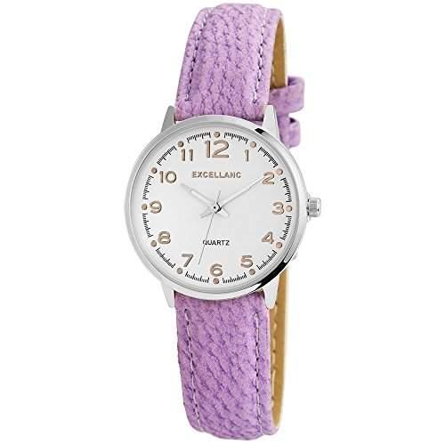 Excellanc Damen-Armbanduhr XS Analog Quarz verschiedene Materialien 195023800172