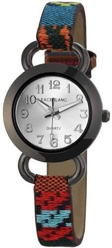 Excellanc Damen-Armbanduhr XS Analog Quarz verschiedene Materialien 195072500167