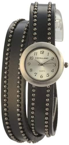 Excellanc Damen-Armbanduhr XS Analog Quarz verschiedene Materialien 195272500024