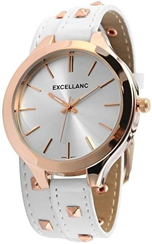 Excellanc Damen-Armbanduhr Analog Quarz verschiedene Materialien 199242000001