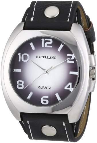 Excellanc Herren-Uhren mit Polyurethan Lederband 295022500055