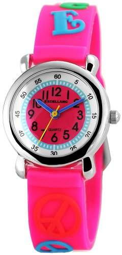 Excellanc Unisex-Armbanduhr Analog Quarz Kautschuk 407025500076