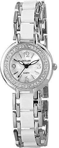Excellanc Damen-Armbanduhr XS Analog Quarz verschiedene Materialien 152522000022