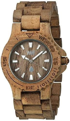 WeWood Date Teak Armbanduhr WW01009