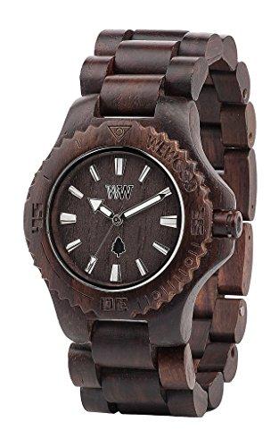 WeWood Chocolate Uhr von Holz umweltfreundlich und Natur