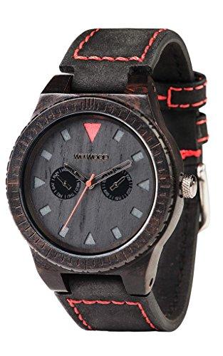 WeWood Top Kollektion Uhr Holz schwarz afrikanischen Armband Leder