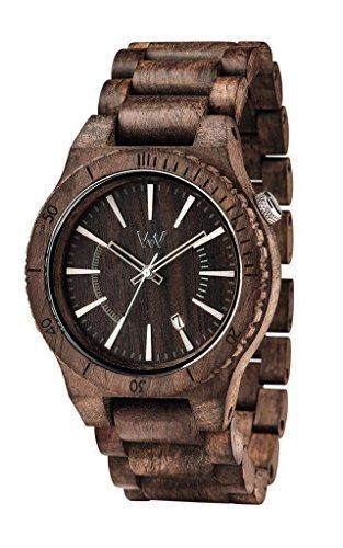 WeWood wassuntchoc Unisex assunt Choco Rough Armband Band Schokolade Armbanduhr