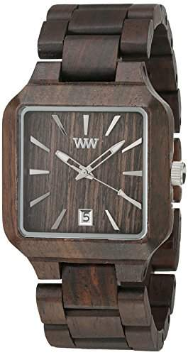 Wewood Herren-Armbanduhr Metis Analog Quarz One Size, dunkelbraun, dunkelbraun