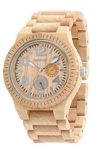WeWood Armbanduhr aus Holz - Kardo - Beige