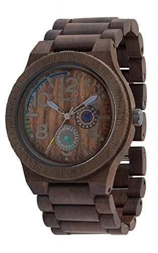 WeWood Armbanduhr aus Holz - Kardo - Chocolate