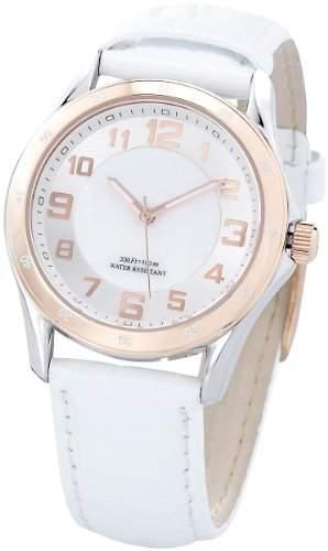 St Leonhard SWISS MADE Damen-Armbanduhr wasserdicht, roségold
