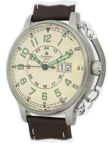 Retro Military Flieger Uhr Spezial Feder Sicherung A1289