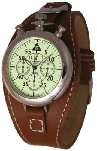 Retro Look Chronograph 40er Jahre Stil - Taschenuhrgehaeuse - A1400