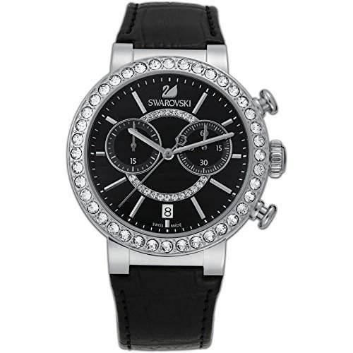 Swarovski Damen-Armbanduhr Analog Quarz Leder 5027131