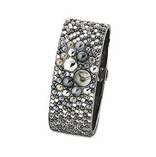 Uhr Damen Armbanduhr swarovski bordeaux Groesse M 869706
