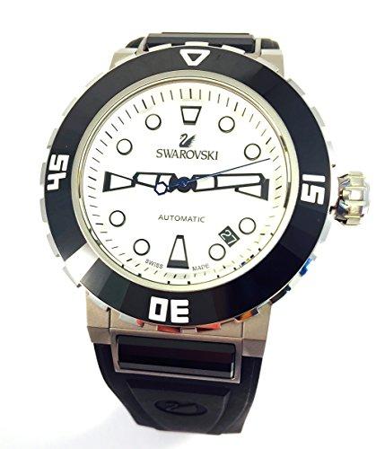 Swarovski Armbanduhr Octea Abyssal weiss Herren Diver Armbanduhr 1124148