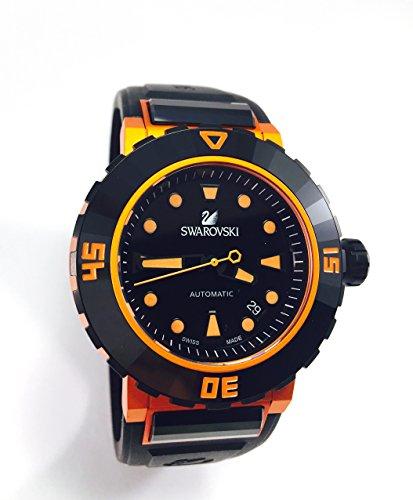 Swarovski Armbanduhr Octea Abyssal orange Herren Diver Armbanduhr 1124149