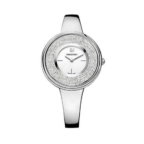 Uhren Swarovski Armbanduhr Damen Crystalline Pure Armband Metall Watch 5269256