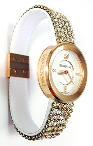 Swarovski Crystal Piazza Mini Seide Rose Armband Armbanduhr