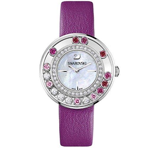 Swarovski Damen Armbanduhr LOVELY Kristallen magenta 1160309