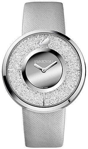 Swarovski Swarovski Kristalline Silber Zifferblatt Edelstahl Stahl Quarz Damen Watch 1135990