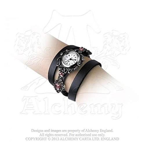 Alchemy Gothic Armbanduhr AW24 Aufschrift