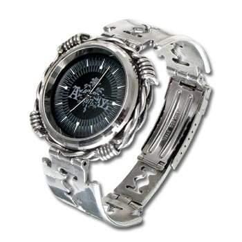 Herren Uhr Alchemy Gothic Razhora Razor Blade Quartz Verstellbares Armband Uhr - ML