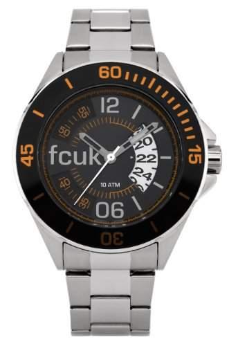 FCUK Herren-Armbanduhr Analog edelstahl silber FC1116O